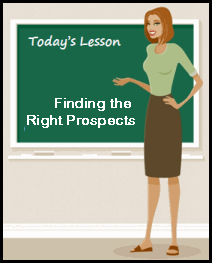 Finding the Right Prospects