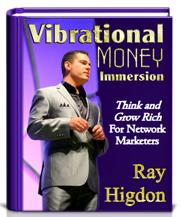 Vibrational Money Immersion Book by Ray Higdon