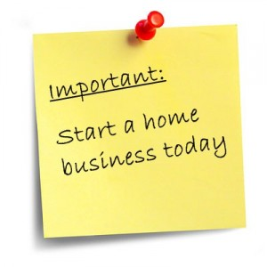 Starting a home business
