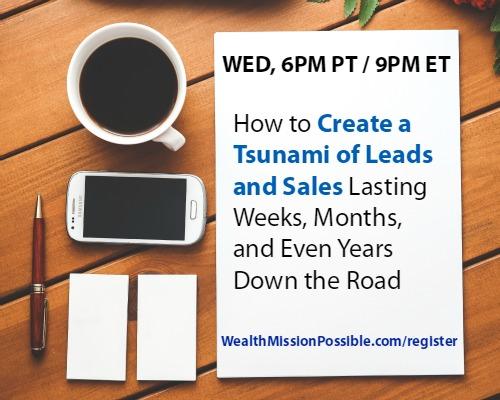 Get more leads - webinar