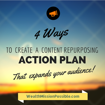 Repurpose content for more exposure