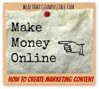 Create Marketing Content