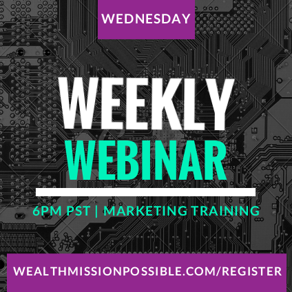 Marketing training webinar
