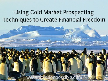 Cold Marketing Prospecting tips in network marketing