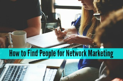 how to find people interested in network marketing