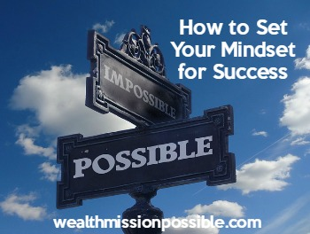 Developing a success mindset