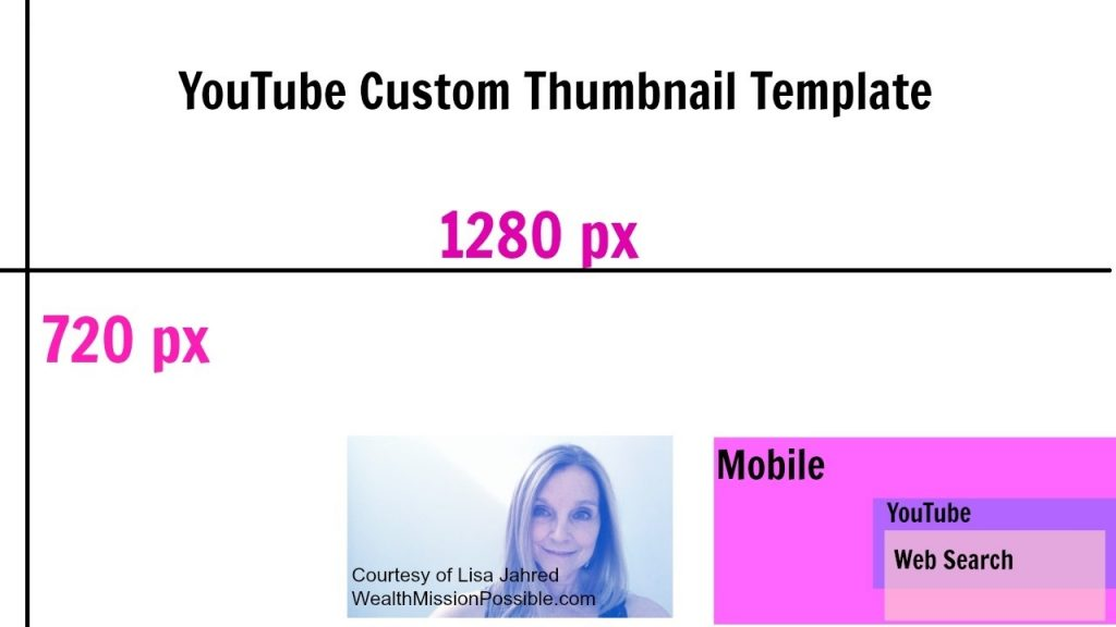 YouTube Custom Thumbnail Template