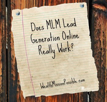 Does MLM Lead Generation Online Really Work?
