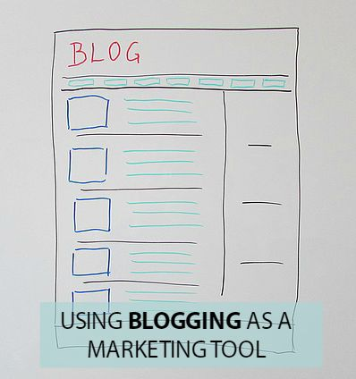 using Blogging as a Marketing Tool