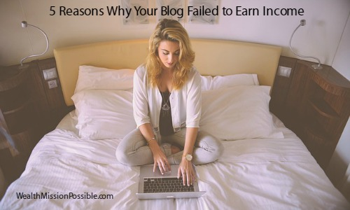 5 Reasons Why Your Blog Failed