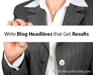 write compelling blog headlines that get results