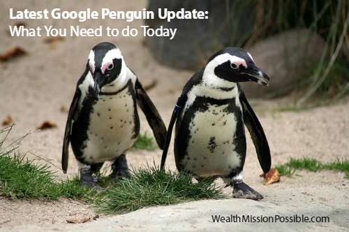 Latest Google Penguin Update