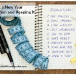 Making a New Year Resolution and Keeping It