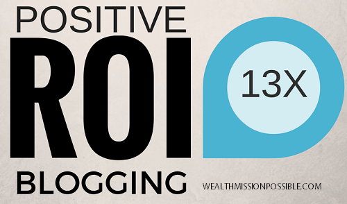Blogging helps create positive ROI
