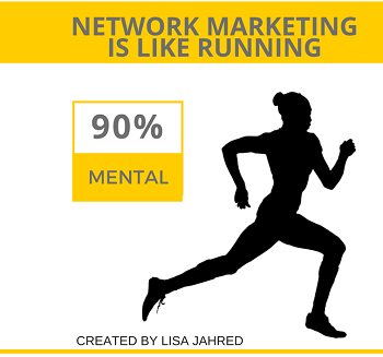 Network Marketing is like running