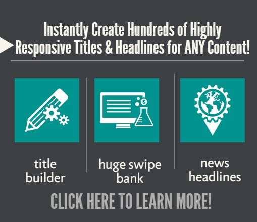 Create compelling headlines