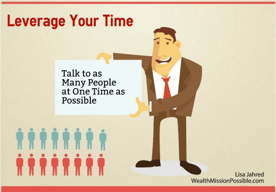 Leverage your time in network marketing