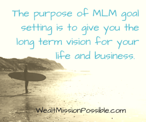 Purpose of Goal Setting