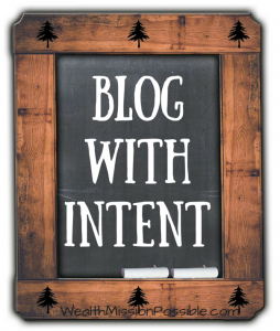 Blog with Intent