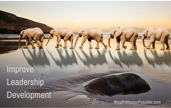 Effective leadership skills are often mistaken for management abilities