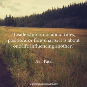 Develope MLM Leadership Skills