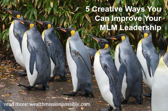 Improve Leadership in Network Marketing