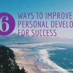 6 Ways to Improve Personal Development for Success