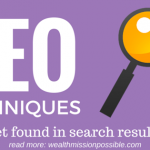 3 SEO Techniques to Get Found in Search Results
