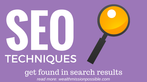 SEO search results techniques
