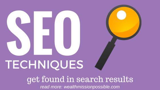 SEO search results techniques