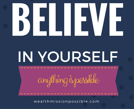 Self belief for success