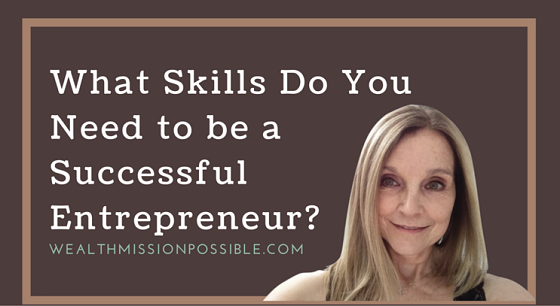 Skills for entrepreneur success!