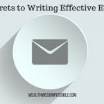 5 Secrets to Writing Effective Emails