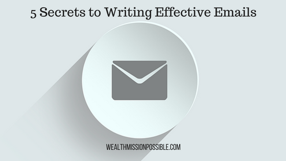 How to write emails that are effective