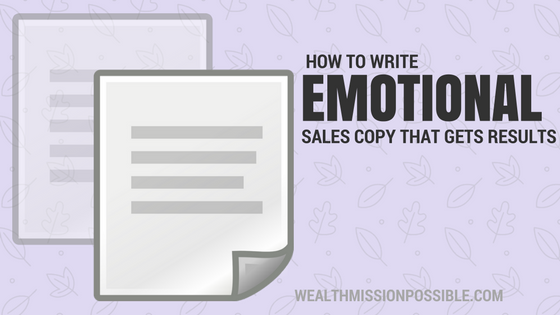 How To Write Emotional Sales Copy To Get Results
