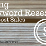 Using Keyword Research to Boost Sales