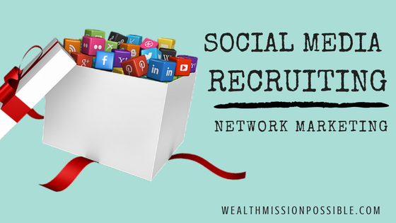 Recruit MLM Team using Social Media