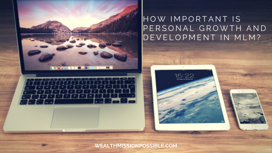 personal growth and development in network marketing