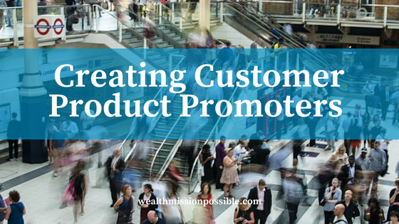 Products promoters in network marketing