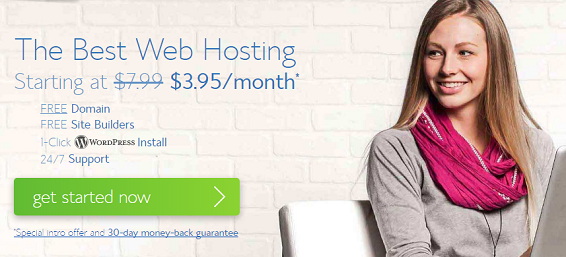Choose a web hosting plan at Bluehost