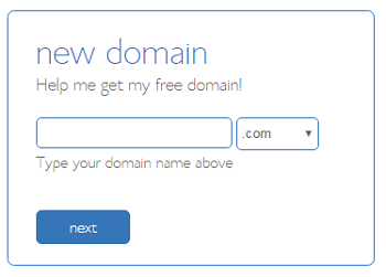 Free domain with Bluehost web hosting