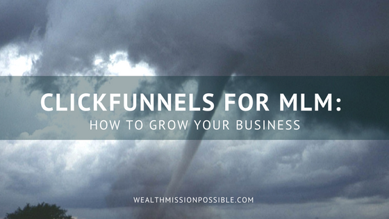 Use ClickFunnels for network Marketing