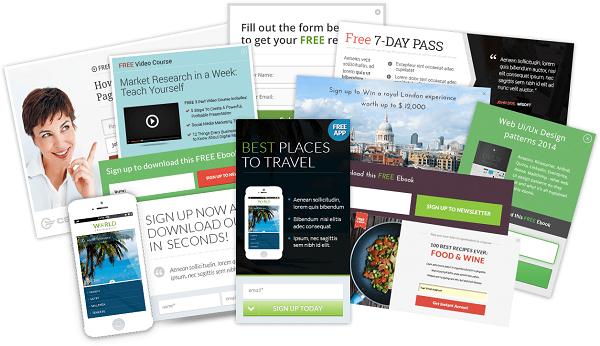 Thrive leads conversion boosting forms
