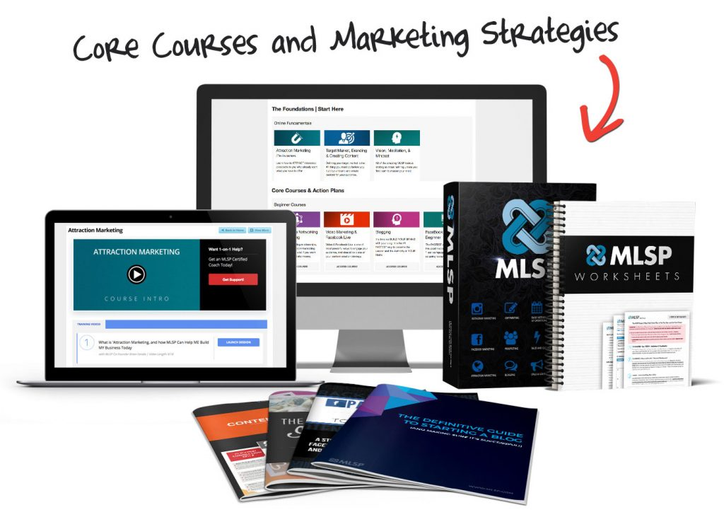 My Lead System Pro core courses