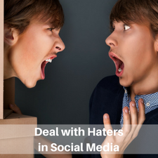 Deal with haters in social media