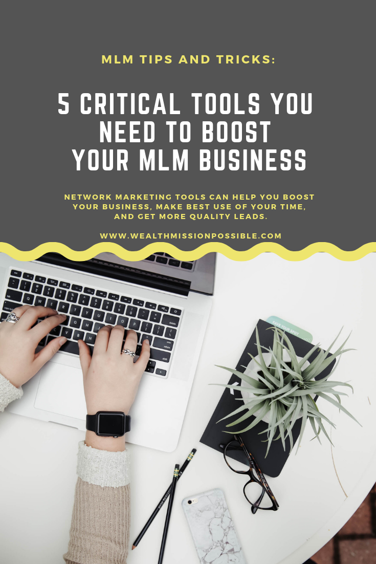 Use the top network marketing tools to grow your MLM business. More sales, leads, distributors and income.