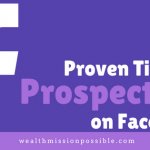 Proven Tips for MLM Prospecting on Facebook